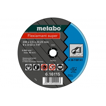 Отрезной круг METABO Flexiamant Super 180x3x22 (616301000)